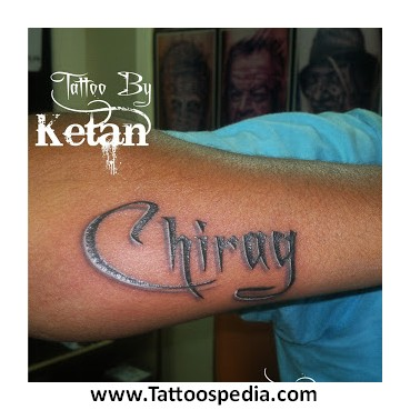 Name Tattoos Designs On Hand 1