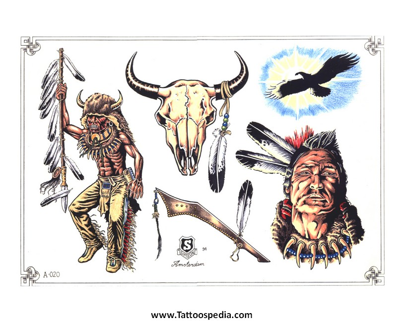 6c29d3fe7 Native American Tattoo Designs And Meanings 9