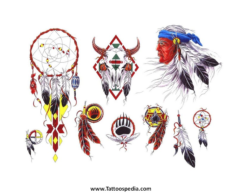 d3354e0f7 Native American Tattoos Designs And Meanings 8