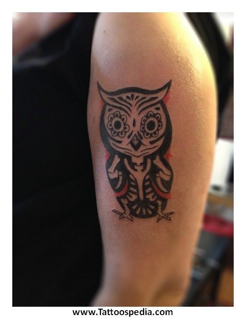Owl Hourglass Tattoo Meaning 9