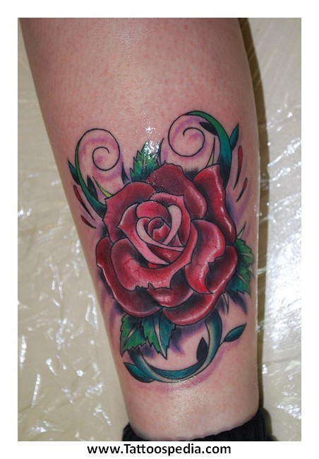 Rose tattoos for Aftercare of tattoos