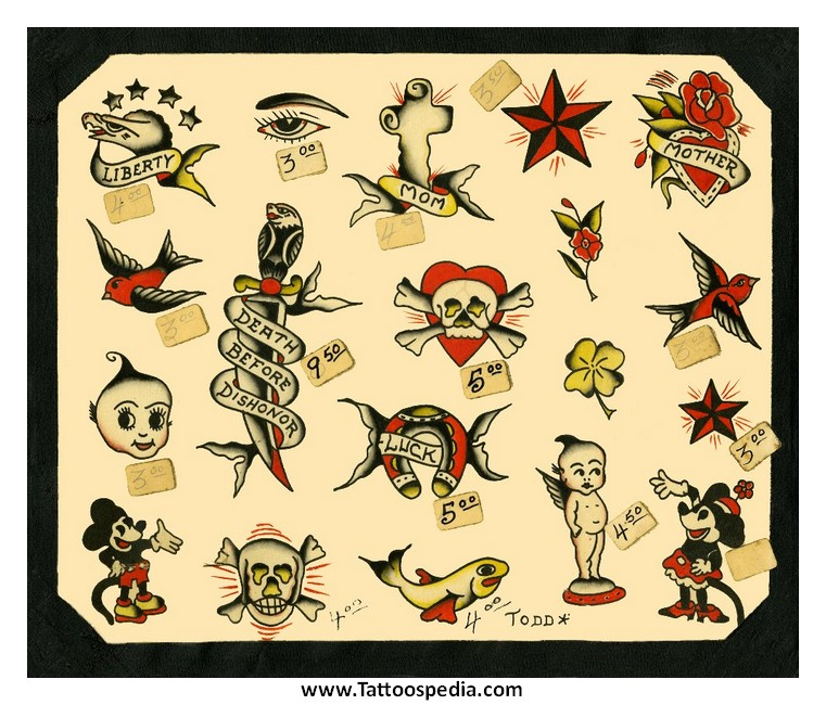 sailor jerry tattoo flash 2 10