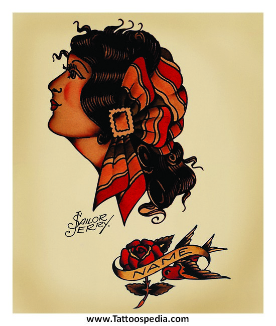 Sailor jerry tattoo gypsy 2 for Sailor jerry gypsy tattoo
