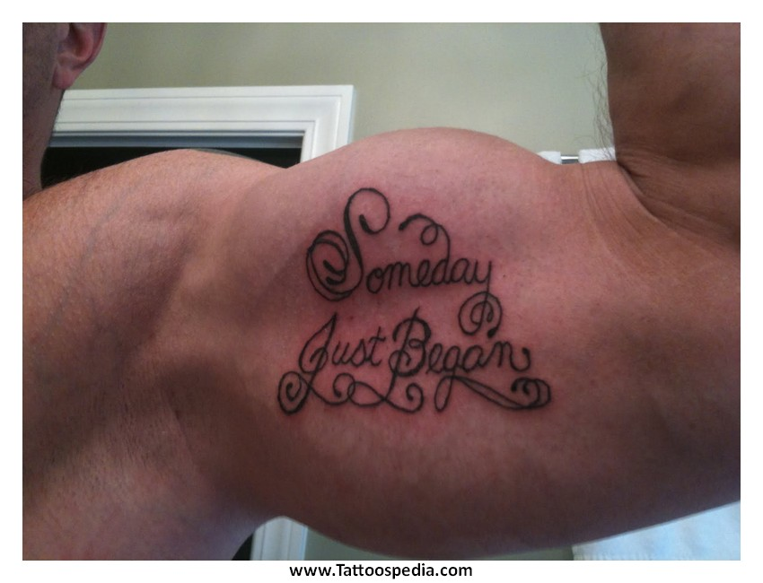 Tony baxter for Weightlifting tattoo designs