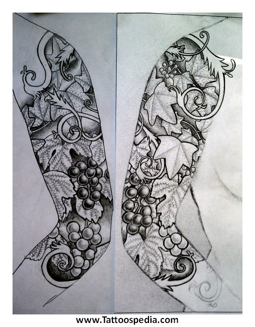designing a sleeve tattoo template tattoo sleeve design template 2