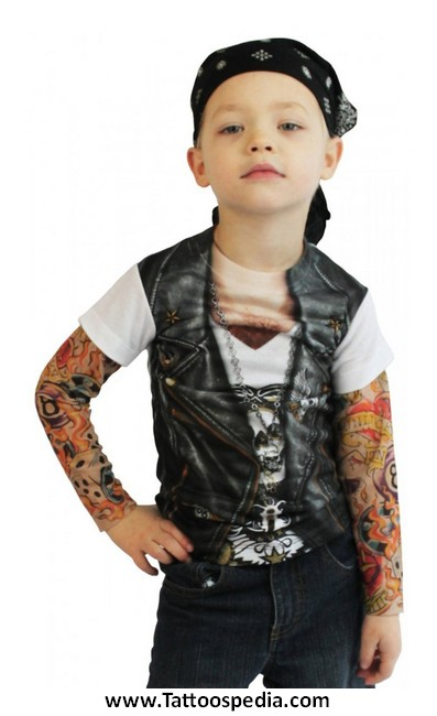 tattoo sleeve halloween costume 2