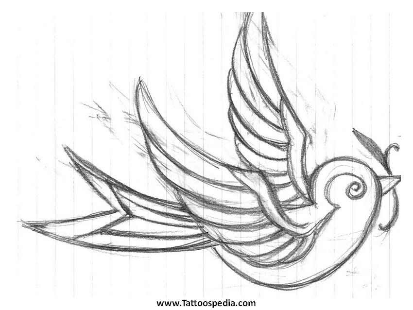 Swallow Tattoo Symbolism 2