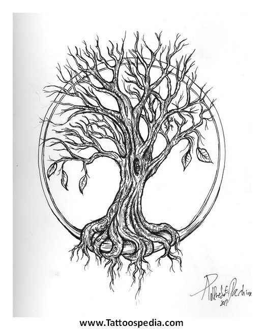 Tree Of Life Tattoo Designs For Men 1