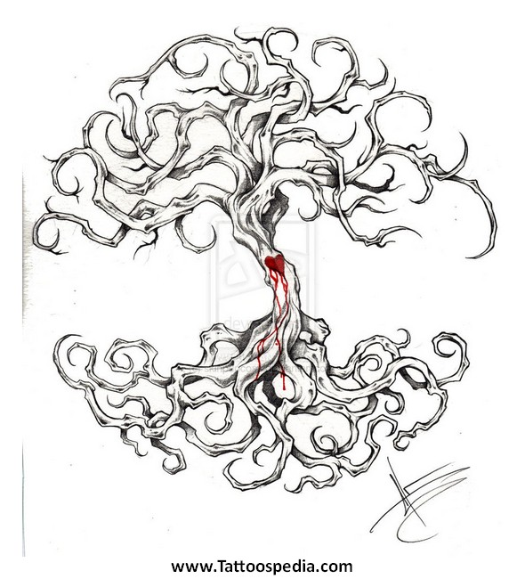 tree of life tattoo designs for women 3. Black Bedroom Furniture Sets. Home Design Ideas