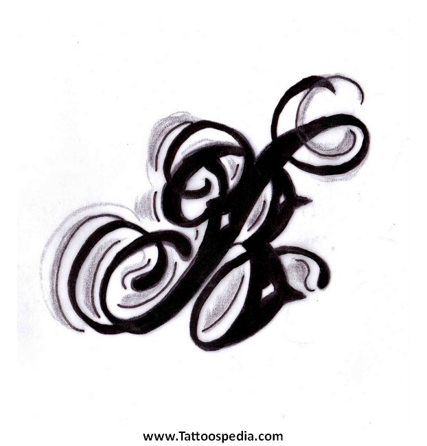 J Letters Tattoo Designs 5