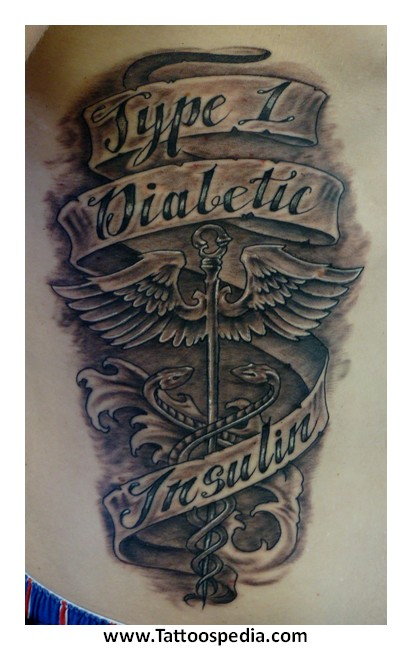 Type 1 Diabetes Tattoo Ideas 3