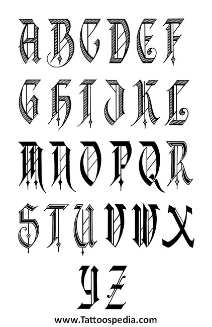 Tattoo Lettering Designs Free Download