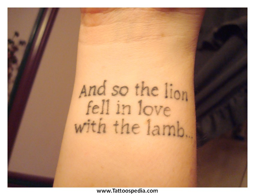 Girl Tattoos Quotes And Sayings 1 |