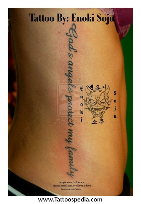 Rib cage tattoos for women quotes 8 for Rib cage tattoos for females