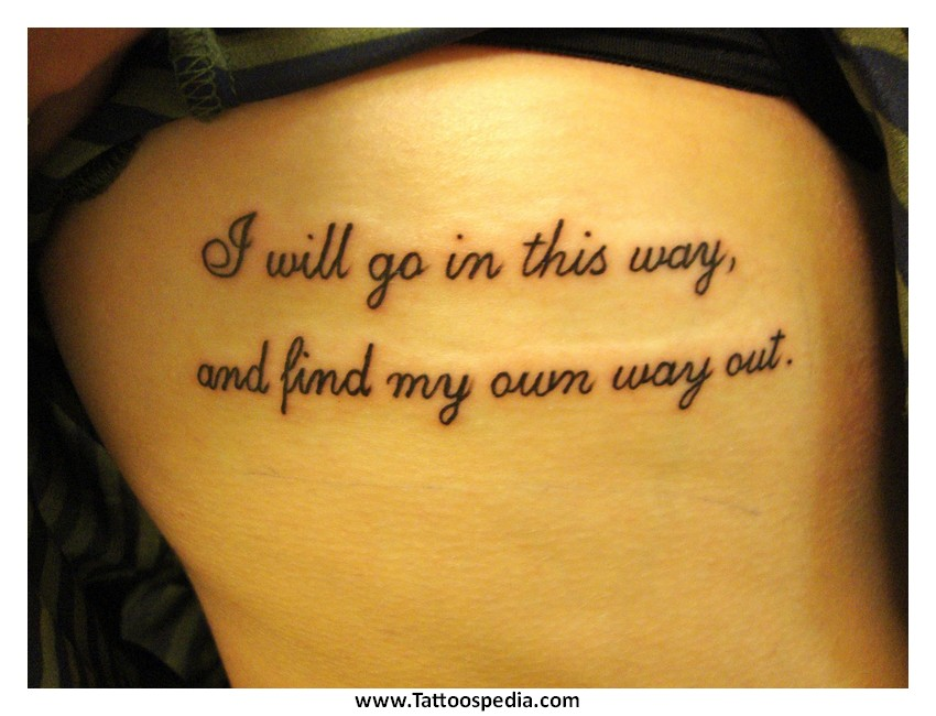 Tattoo Quotes New Beginnings 2
