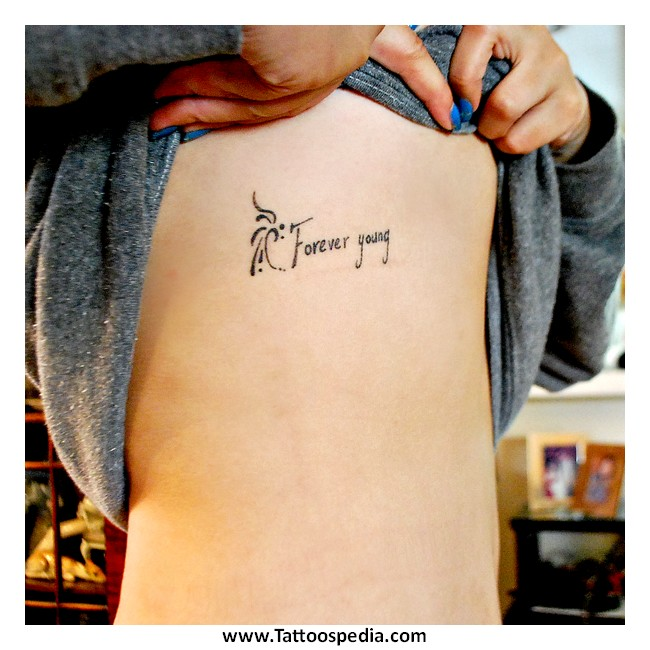 Tattoo Quotes Young Death 1 |