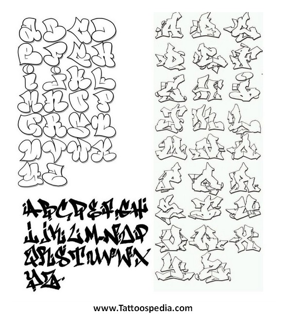 Tattoo Fonts Graffiti 3 |