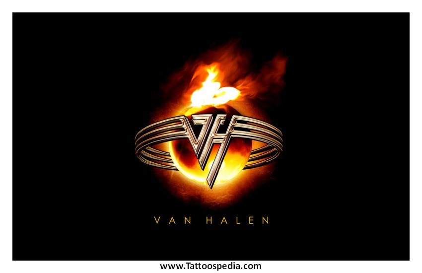 Tattoo van halen hagar 5 for Tattoo van halen