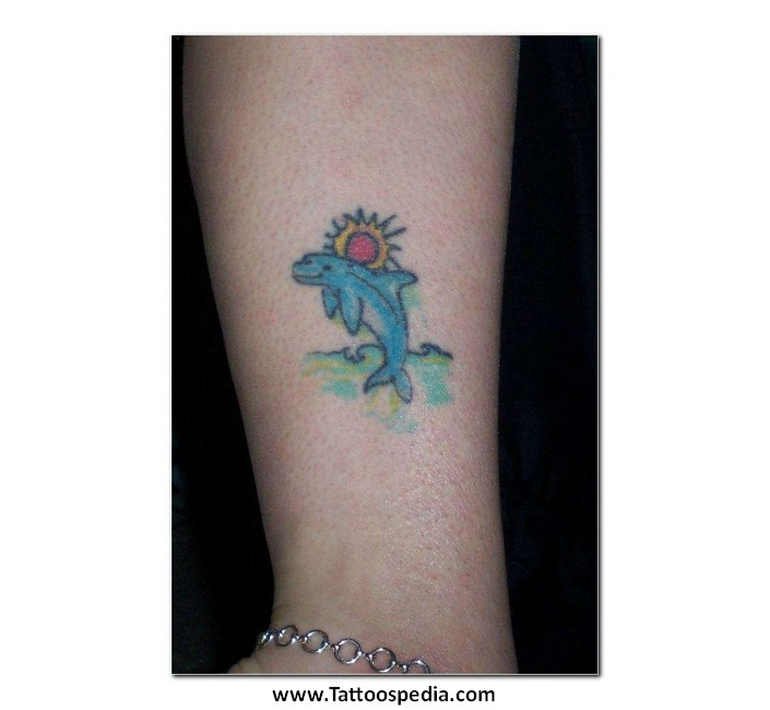 Dolphin tattoos with meaning 7 for What does a dolphin tattoo symbolize