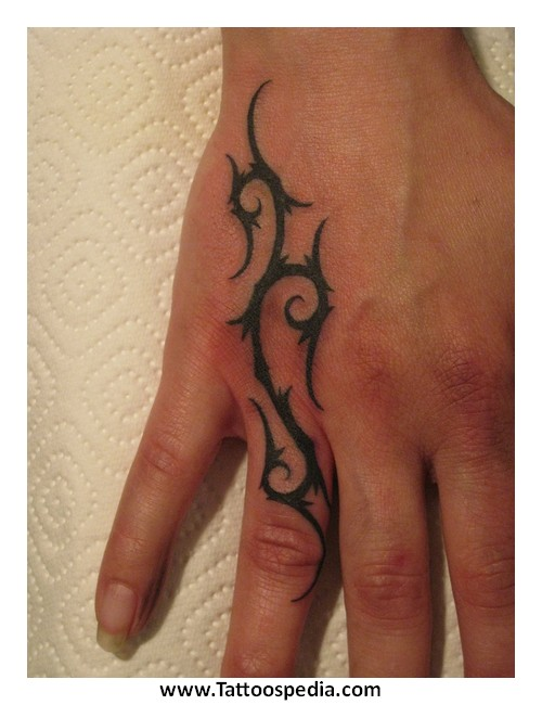 Tribal Hand Tattoo Designs For Men 1