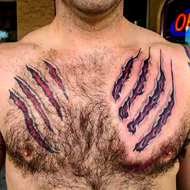 Tattoospedia for Pictures of bear paw tattoos