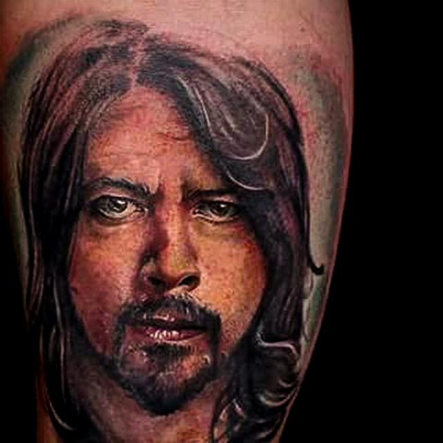 dave grohl tattoo