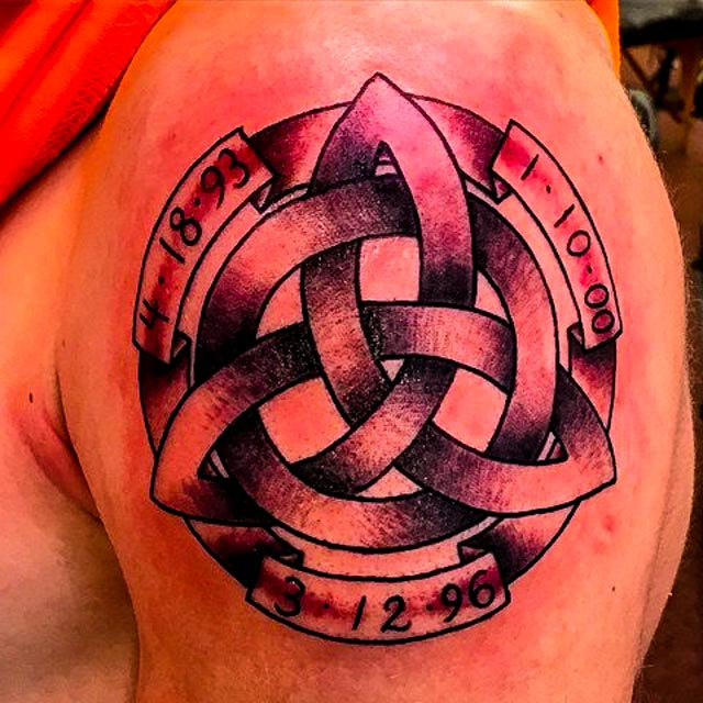 trinity knot tattoo 05
