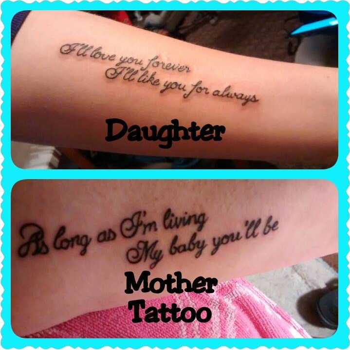 Mother Daughter Quotes for Tattoos |