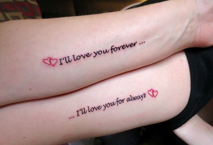 Mother Daughter Tattoo Quotes |