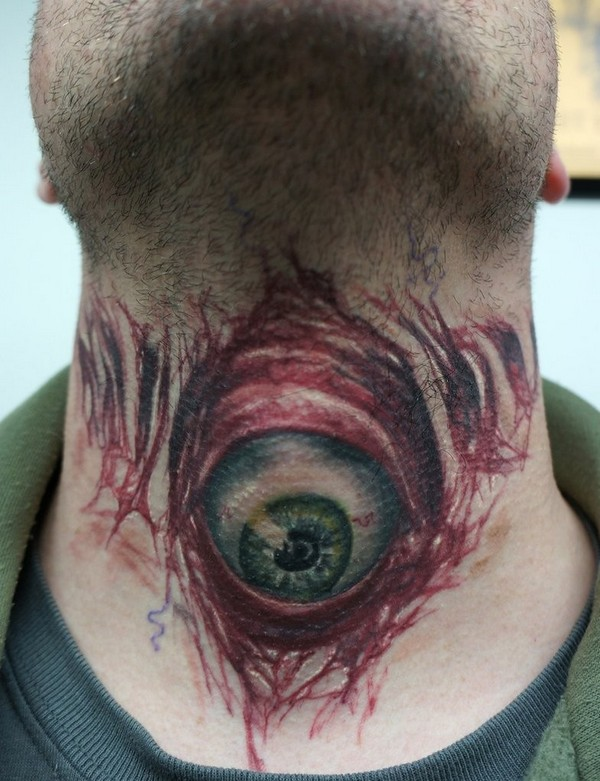 Evil Eyeball Tattoos