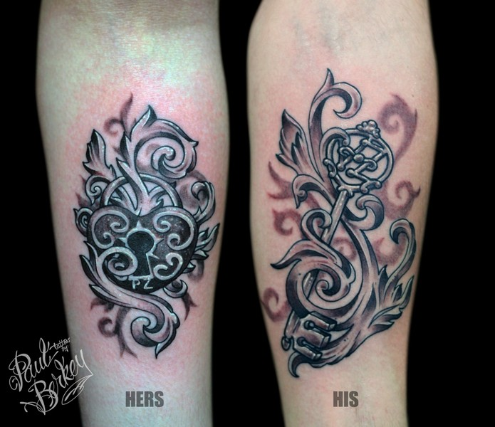His And Hers Country Tattoos