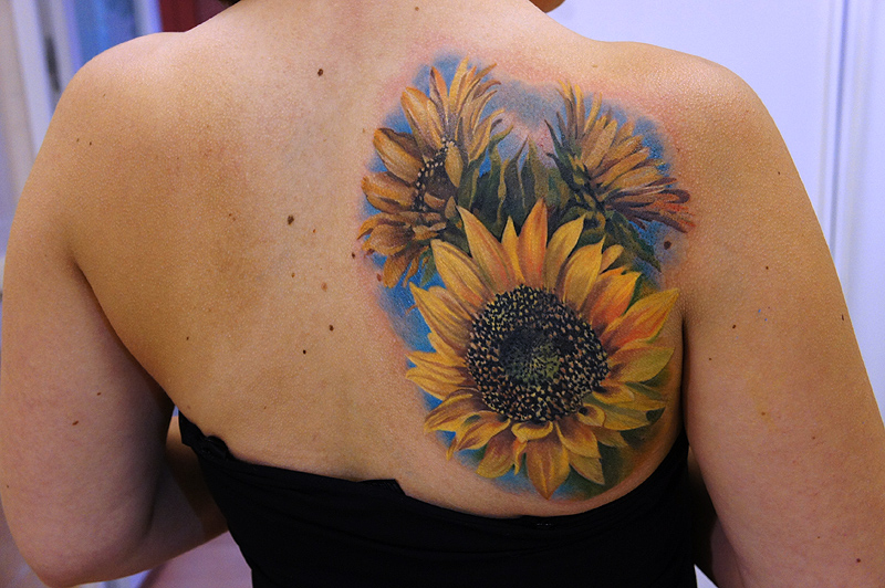 Sunflower Tattoos Meaning