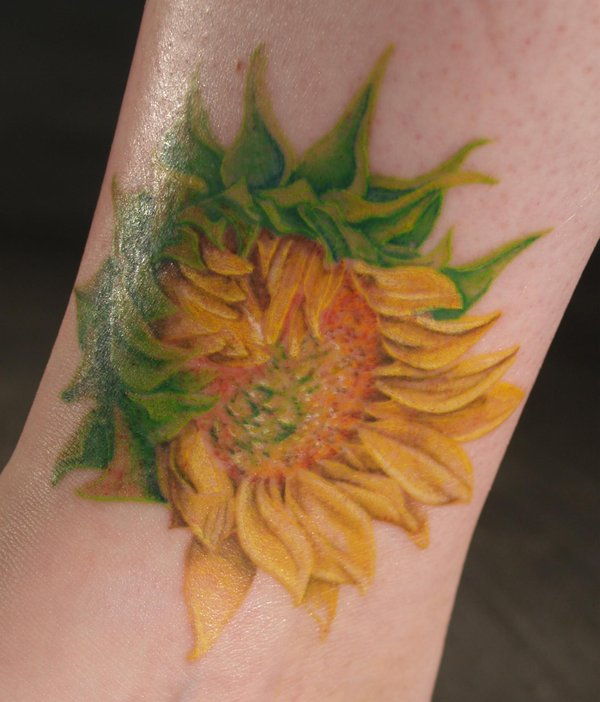 sunflower_tattoo_by_captainmonkeypants