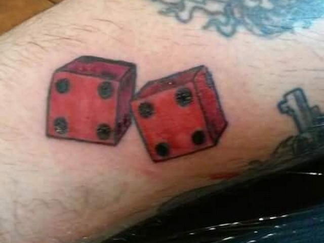 dice tattoo meaning. Black Bedroom Furniture Sets. Home Design Ideas