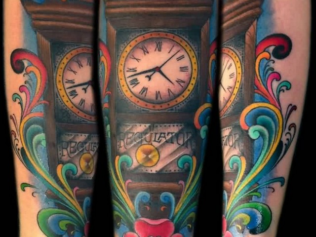 grandfather clock tattoo designs 187 full hd pictures 4k