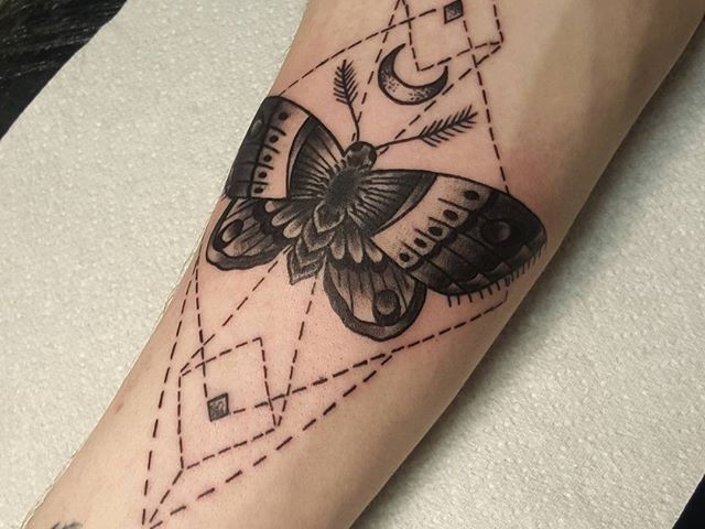 Moths Tattoo Meaning