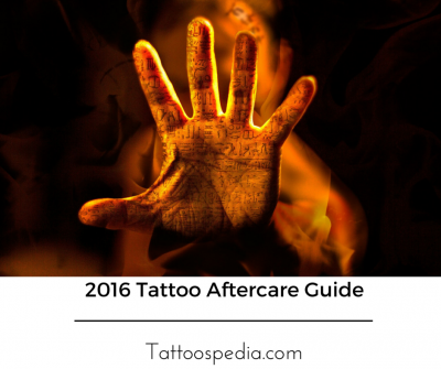 2016 Tattoo Aftercare Guide facebook